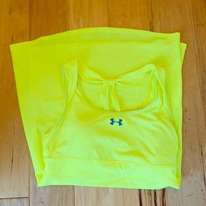 Under Armour Tennis dress Neon yellow size M